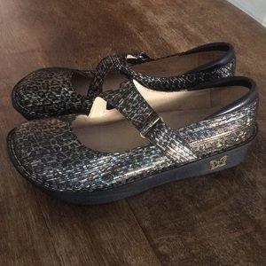 Algeria by PG Lite Leopard Metallic Shoes 39 Sz 9